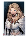 Astonishing X-Men 43 Cover: Emma Frost Prints by Arthur Adams