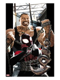 Ultimate Comics Spider-Man 8 Cover: Spider-Man and Scorpion Prints by Kaare Andrews