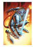 New Mutants No.17: Magik Crouching Print by Leonard Kirk