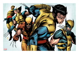 X-Men Evolutions No.1: Wolverine Poster by Patrick Zircher