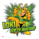 Marvel Super Hero Squad: God of Mischief - Loki Posing Poster