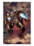 X-Factor No.230: Iron Man Prints by Emanuela Lupacchino