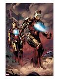X-Factor No.230: Iron Man Prints by Emanuela Lupacchino