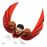 Marvel Super Hero Squad: Falcon Flying Print