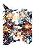 Thunderbolts 172 Cover: Mr. Hyde, Moonstone, Satana, Fixer, Troll, Centurius, Songbird and Others Posters by Mark Bagley