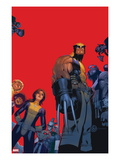 Wolverine & The X-Men No.1 Cover: Wolverine, Kitty Pryde, Beast Prints by Chris Bachalo