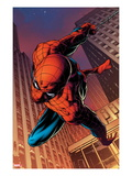 Amazing Spider-Man 641: Spider-Man Swinging Posters by Joe Quesada