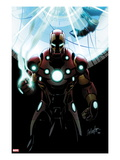 Invincible Iron Man No.501 Cover: Iron Man Standing Posters by Salvador Larroca