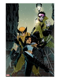 X-23 No.11 Cover: X-23, Wolverine, Jubilee Prints by Kalman Andrasofszky