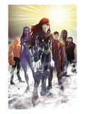 Generation Hope No.5 Cover: Hope Summers, Laurie Tromette, Gabriel Cohuelo, Idie Okonkwo and Others Art by David LaFuente