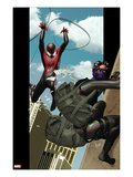 Ultimate Comics Spider-Man 9 Cover: Spider-Man and Prowler Prints by Kaare Andrews
