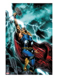 Thor: First Thunder 1 Cover: Thor Standing Art by Jay Anacleto