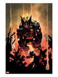 Wolverine 300 Cover Prints by Adam Kubert