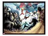 The Amazing Spider-Man No.683: Rhino, Red Hulk, Spider Woman, Thor, Sandman and Others Art by Stefano Caselli