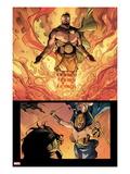 Chaos War No.4: Hercules Posing Posters by Khoi Pham