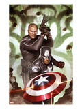 Captain America: Hail Hydra No.5: Captain America and Steve Rogers Prints by Adi Granov