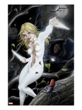 Spider-Island: Cloak & Dagger No.1 Cover: Cloak and Dagger in a Tree Prints by Mike Choi