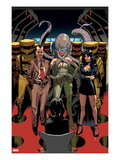 Avengers 18:  Norman Osborn, Madame Hydra, and Superia Print by Daniel Acuna
