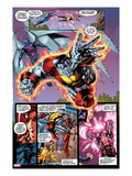 X-Men No.1: 20th Anniversary Edition: Colossus and Archangel Flying Prints by Jim Lee