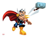 Marvel Super Hero Squad: Thor Throwing Posters