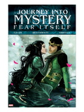 Journey Into Mystery 625 Cover: Loki and Leah Prints by Stephanie Hans