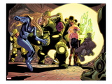 Ultimate Doom No.1: Invisible Woman and Reed Richards Standing Print by Rafa Sandoval
