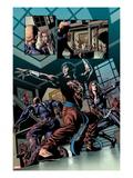 Secret Avengers No.6: Shang-Chi and Black Widow Posing Art by Mike Deodato Jr.