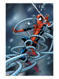 Marvel Adventures Spider-Man 6 Cover: Spider-Man Trapped Posters by Patrick Scherberger
