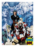 X-Men 1: 20th Anniversary Edition: Omega Red Prints by Jim Lee