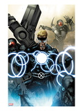 X-Men Legacy No.257 Cover: Havok Screaming Posters by Mico Suayan