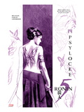 5 Ronin No.4 Cover: Psylocke Print by David Aja