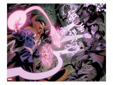 Iron Man Legacy No.11: Dr. Strange Fighting with Energy Prints by Juan Doe