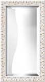 ANTIGUA White Mirror Decorative Mirror