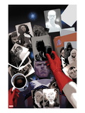 Avengers 18 Cover: Photographs of Steve Rogers, Black Panther, Ghost Rider, Storm, and Blade Prints by Daniel Acuna