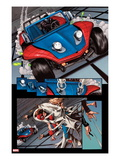 The Amazing Spider-Man No.647: Panels with Spider-Man Posters by Max Fiumara