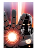 Iron Man 2.0 No.9 Cover: War Machine Poster by Salvador Larroca