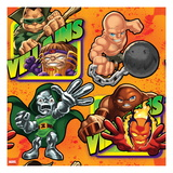Marvel Super Hero Squad: Mole Man, M.O.D.O.K, Absorbing Man, Dr. Doom, Juggernaut, and Dormammu Prints