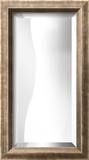 LA MODE Silver Wide Mirror Decorative Mirror