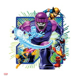 Marvel Super Hero Squad: Sentinel, Iceman, Wolverine, Cyclops, and Colossus Charging Posters