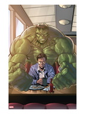 Incredible Hulks 635: Bruce Banner Sitting with Coffee Posters by Tom Grummett