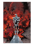 The Mighty Thor No.1: Silver Surfer Flying Prints by Olivier Coipel