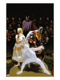 X-Men: Schism 3 Cover: Iceman, Colossus, Magneto, and Emma Frost Posters by Daniel Acuna