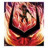 Journey Into Mystery No.626 Cover: Loki in Flames Prints by Stephanie Hans