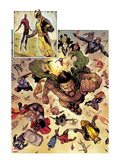 Chaos War 1: Hercules, Wolverine, Thor, Spider-Man, Captain America, Mockingbird, and Black Widow Prints by Khoi Pham