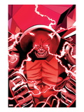 Uncanny X-Men 542: Juggernaut Transforming Art by Greg Land