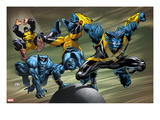 X-Men Evolutions 1: Beast Prints by Lee Weeks