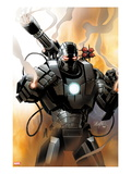 Iron Man 2.0 No.1 Cover: War Machine Prints by Salvador Larroca