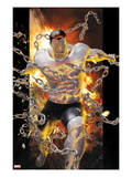 Ultimate Comics X-Men 9 Cover: Colussus and Broken Chains Prints by Kaare Andrews