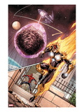 I Am an Avenger 3: Nova Flying Prints by Andy Lanning