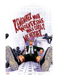 Wolverine &amp; The X-Men 3 Cover: Quentin Quire Sitting in the Bathroom Print by Chris Bachalo